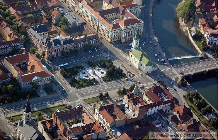 Oradea vazuta din balcon