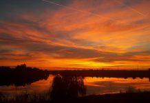 de ce a fost cerul rosu in Romania