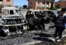 autoturisme incendiate in Italia