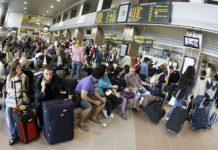pasageri aeroport