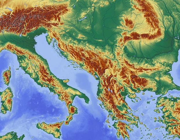 Large Road Map Of Croatia With Cities And Airports Vidiani Com